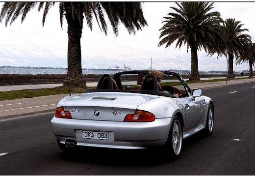 BMW Z3 E36/7 roadster silver grey tylny prawy
