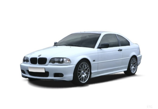 BMW Seria 3 E46/2 coupe biały