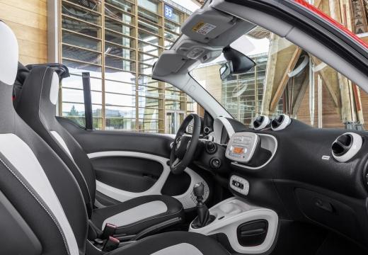 SMART fortwo cabrio III kabriolet wnętrze