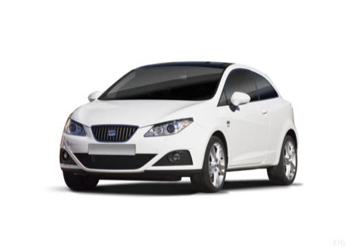 SEAT Ibiza V hatchback biały przedni lewy