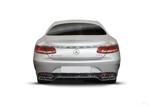 MERCEDES-BENZ Klasa S Coupe I coupe tylny