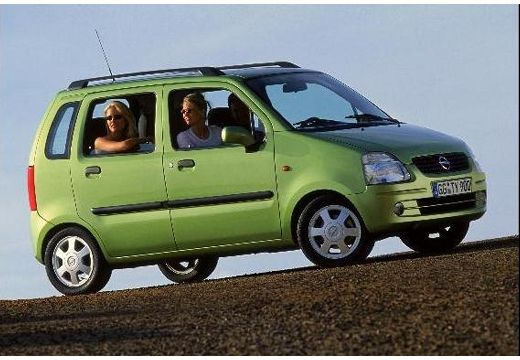 OPEL Agila 1.2 NJoy Hatchback I 75KM (benzyna)