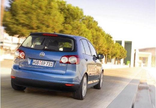 VOLKSWAGEN Golf V Plus hatchback niebieski jasny tylny prawy