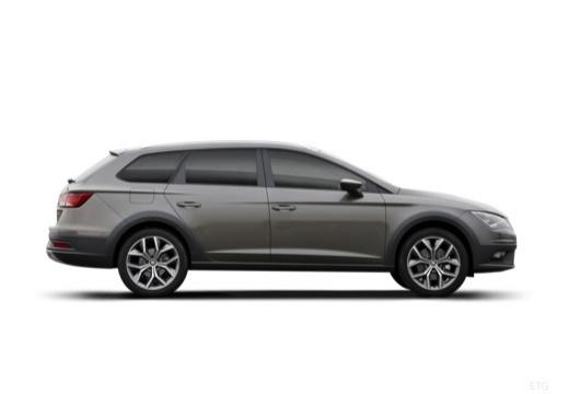 SEAT Leon X-Perience I kombi boczny prawy
