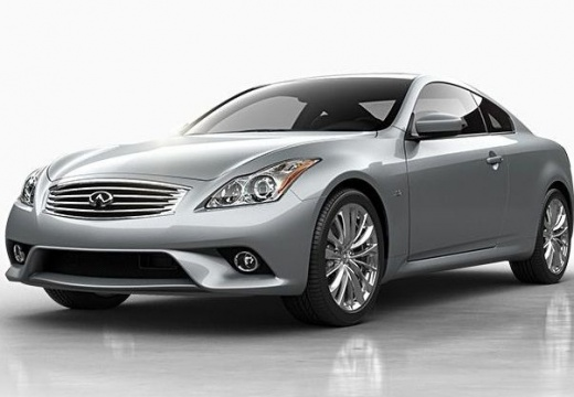 INFINITI Q60 coupe silver grey
