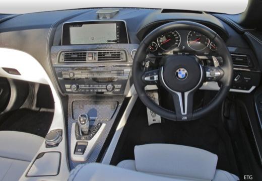 BMW Seria 6 kabriolet tablica rozdzielcza