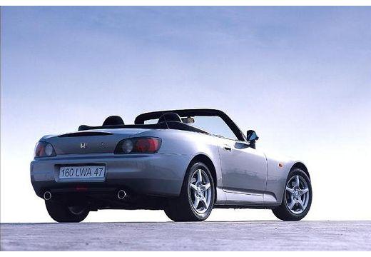 HONDA S 2000 I roadster silver grey tylny prawy