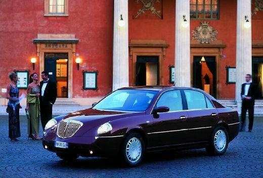 LANCIA Thesis I sedan bordeaux (czerwony ciemny) przedni lewy