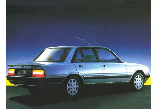PEUGEOT 505 sedan niebieski jasny tylny prawy