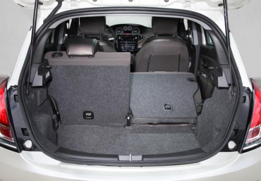LANCIA Ypsilon III hatchback przestrzeń załadunkowa