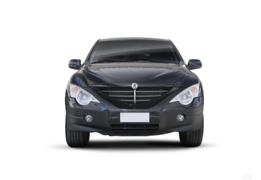 SSANG YONG Actyon hatchback czarny przedni