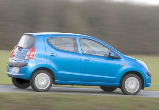 NISSAN Pixo hatchback niebieski jasny tylny prawy