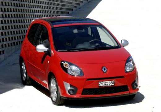RENAULT Twingo IV hatchback czerwony jasny przedni prawy