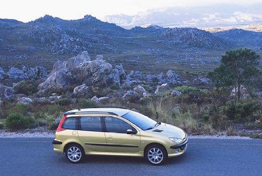 PEUGEOT 206 1.4 Trendy Kombi II 88KM (benzyna)