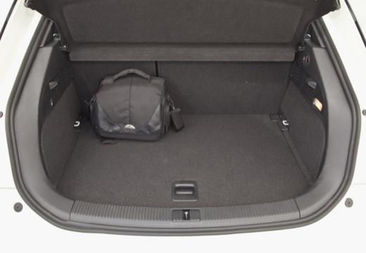 AUDI A1 I hatchback przestrzeń załadunkowa