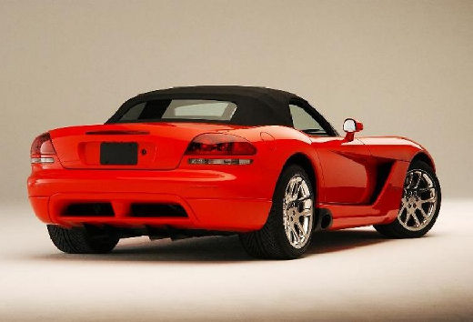 DODGE Viper roadster czerwony jasny tylny prawy