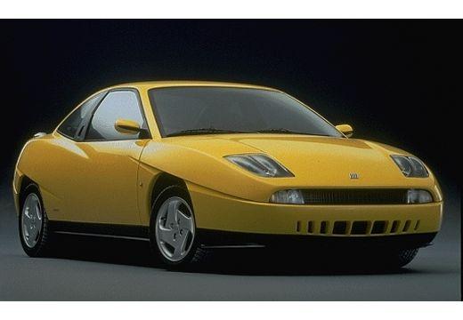 FIAT Coup coupe żółty przedni prawy