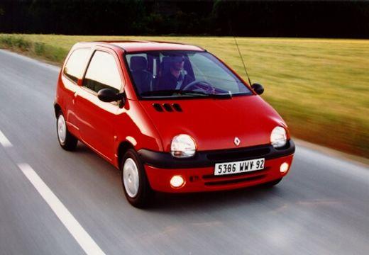 RENAULT Twingo II hatchback czerwony jasny przedni prawy