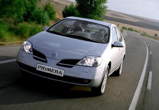 NISSAN Primera IV sedan silver grey przedni lewy