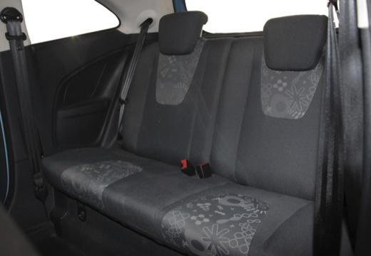 FORD Ka II hatchback wnętrze