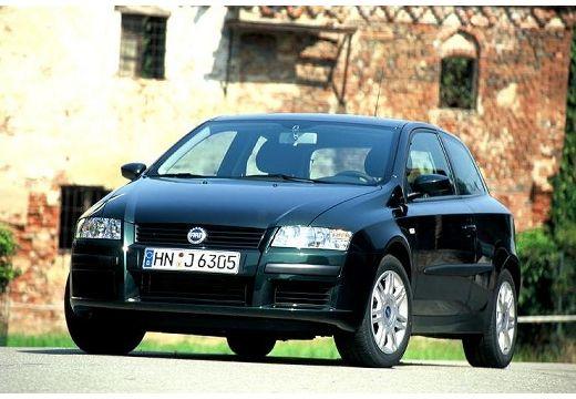 FIAT Stilo III hatchback czarny przedni lewy