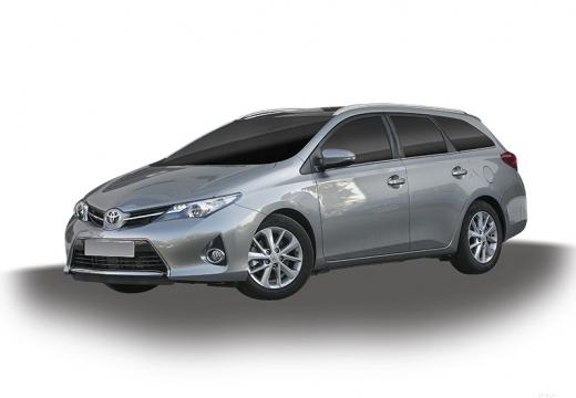Toyota Auris kombi silver grey