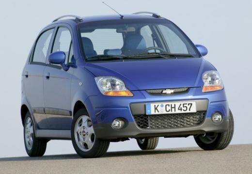 CHEVROLET Spark I hatchback niebieski jasny przedni prawy