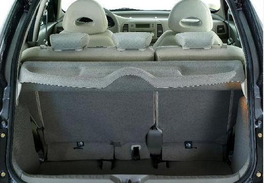 NISSAN Micra VI hatchback przestrzeń załadunkowa