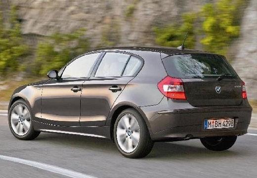 BMW Seria 1 E87 I hatchback brązowy tylny lewy