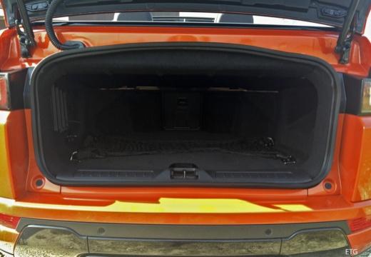 LAND ROVER Range Rover kabriolet przestrzeń załadunkowa