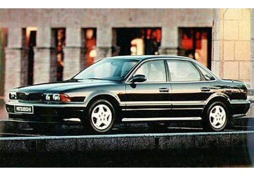 MITSUBISHI Sigma sedan czarny przedni lewy