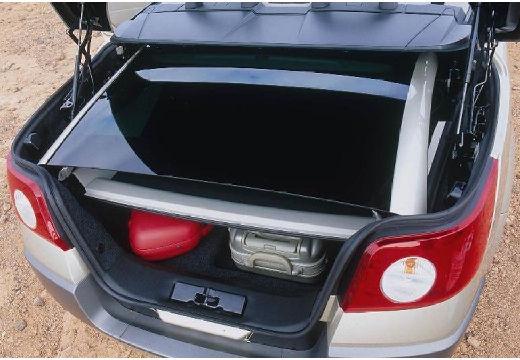 RENAULT Megane CC kabriolet silver grey przestrzeń załadunkowa