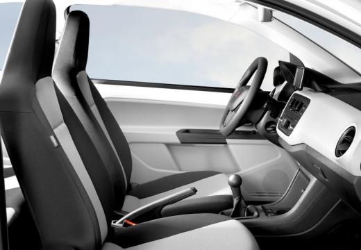 SEAT Mii hatchback wnętrze
