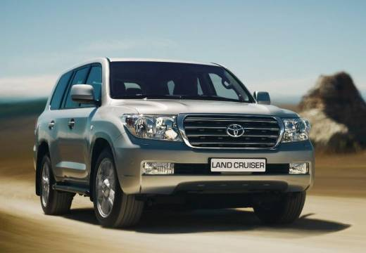 Toyota Land Cruiser V8 I kombi silver grey przedni prawy