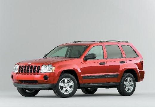 JEEP Grand Cherokee III kombi czerwony jasny przedni lewy