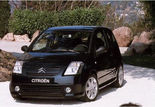 CITROEN C2 I hatchback czarny przedni lewy