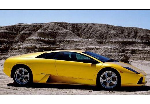 LAMBORGHINI Murcielago coupe żółty przedni prawy