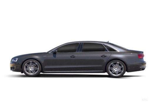 AUDI A8 D4 I sedan boczny lewy