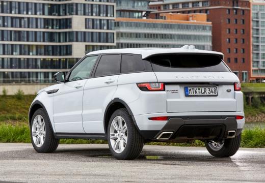 LAND ROVER Range Rover Evoque II kombi biały tylny lewy