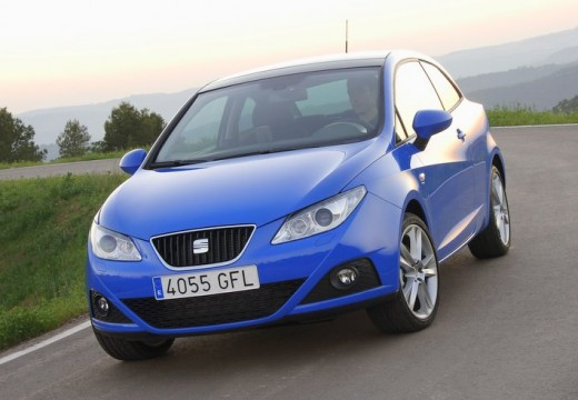 SEAT Ibiza V hatchback niebieski jasny przedni lewy