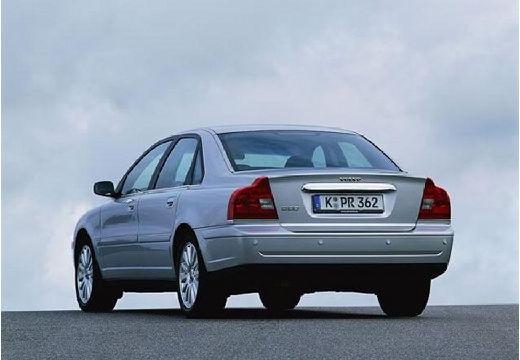 VOLVO S80 II sedan silver grey tylny lewy
