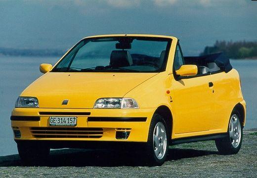 FIAT Punto Cabriolet kabriolet żółty przedni lewy