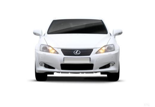 LEXUS IS C kabriolet biały przedni