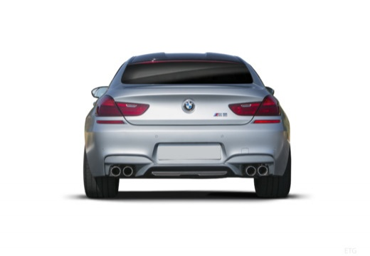 BMW Seria 6 Gran Coupe F06 I sedan tylny