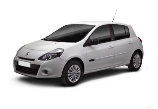 RENAULT Clio III II hatchback biały przedni lewy