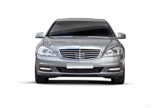MERCEDES-BENZ Klasa S sedan silver grey przedni