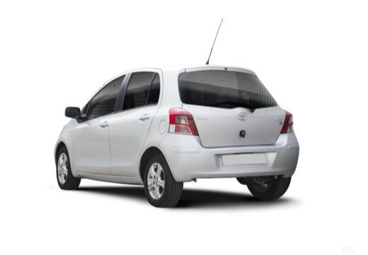 Toyota Yaris IV hatchback tylny lewy