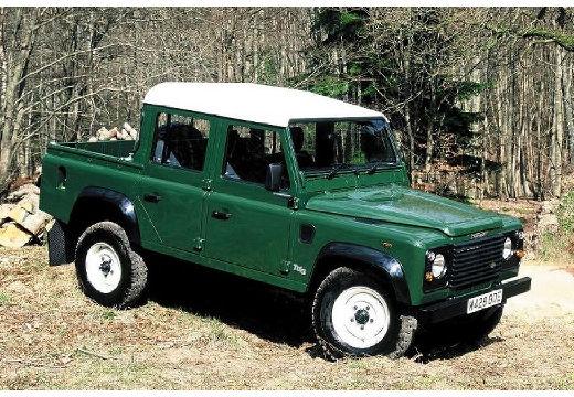 LAND ROVER Defender pickup zielony przedni prawy