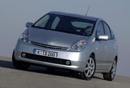 Toyota Prius I hatchback silver grey przedni lewy