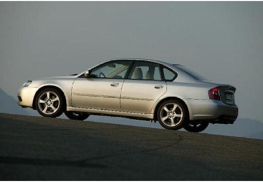SUBARU Legacy VI sedan silver grey tylny lewy